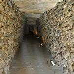 vista interior del Dolmen
